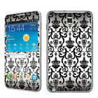 USA White Vintage Vinyl Case Decal Skin To Cover Samsung Galaxy Note i717 AT&T