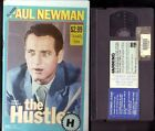 THE HUSTLER / Paul Newman, Piper Laurie, Jackie Gleason: PAL VHS VIDEO EX-RENTAL