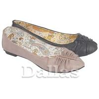 LADIES FLAT SHOES WOMENS GIRLS BALLET BALLERINA PUMPS DOLLY DANCE SHOES SIZE 3-8
