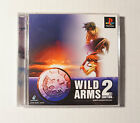 Wild Arms 2 2nd Ignition [JAPAN IMPORT] PSX PS1 PS Sony Playstation - PRISTINE