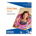 Epson S041649 Photo Paper, Glossy (50 Sheets, 8.5x11)