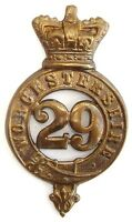 VICTORIAN 29TH WORCESTERSHIRE GLENGARRY BADGE