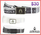 Nixon Men's Skate Surf Snow Board Enamel Wings Art Belt Strap Clothing Apparel