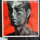 Rolling Stones Tattoo You Album Autographed By All Five Members!!!