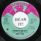 Jimmy Saad NORTHERN 45 (Condor PROMO #203) Concrete And Clay