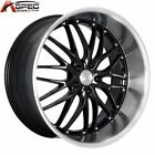 1 MRR GT1 20X10 5X120 +37 BLACK MACHINED RIMS WHEELS