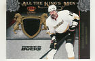 2011-12 CROWN ROYALE GEORGE PARROS JERSEY ALL THE KING'S MEN ANAHEIM DUCKS
