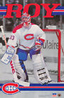 POSTER :NHL HOCKEY : PATRICK ROY - MONTREAL CANADIENS - FREE SHIPPING ! RW13 R