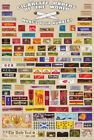 POSTER :CIGARETTE PAPERS OF THE WORLD - FREE SHIPPING ! #PP30078 RC46 O