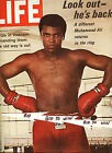 MUHAMMAD ALI Look Out He's BACK LIFE Magazine October 1970 VIETNAM New GIs