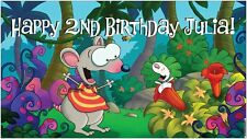 NOW $29.95!! Custom Vinyl Toopy and & Binoo Birthday Party Banner Decorations