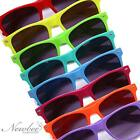 Hot Colorful Wayfarer Style Vintage Sunglasses Bright Neon Hipster Fixie Shades