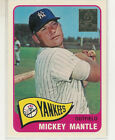 1996 TOPPS MICKEY MANTLE COMMEMORATIVE CASE CARD #15 NEW YORK YANKEES