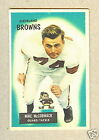 1955 BOWMAN MIKE McCORMACK RC #2 * Cleveland Browns guard / tackle