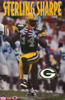POSTER: NFL  FOOTBALL : STERLING SHARPE - PACKERS - FREE SHIPPING !     RW12 F
