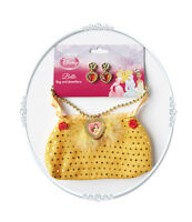 BELLE BEAUTY & THE BEAST BAG WITH JEWELLERY DISNEY PRINCESS FANCY DRESS COSTUME