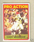 1972 TOPPS TERRY BRADSHAW Pro Action #120 * Steelers HOF  QB