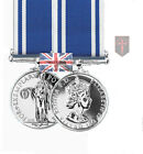 Official LS&GCM Police Long Service & Good Conduct Miniature Medal + Ribbon