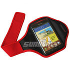 red Sport Armband Cover Case Skin Pouch for Samsung Galaxy Note LTE,SGH-i717
