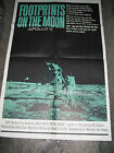 FOOTPRINTS ON THE MOON / ORIGINAL U.S. ONE-SHEET MOVIE POSTER (APOLLO 11 )