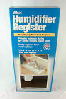 "WEB Humidifier Register WHUMREG - Fits Either 4"" X 10"" or 4"" X 12"" - New - NIB"