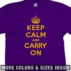 Keep Calm and Carry On T-Shirt - British WWII Poster Meme