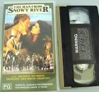 THE MAN FROM SNOWY RIVER : PAL VHS VIDEO