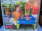 SAND & WATER PLAY TABLE WITH SPINNER TOWER AND PITCHER & 2 SAILBOATS