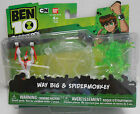 Ben 10 Omniverse 2 figure Way Big & Spidermonkey, NEW by Bandai America!