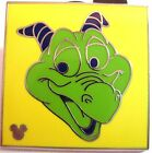 HIDDEN MICKEY Disney Pin FIGMENT Colorful #1 Green FREE SHIPPING AFTER 1ST PIN!!