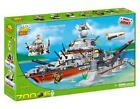 COBI SMALL ARMY SERIES NAVY BATTLECRUISER WITH DOCK BUILDING BLOCK PLAYSET 4702