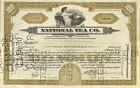 National Tea Company 1930 Chicago Illinois stock certificate share