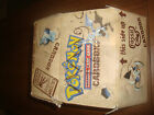 EMPTY BOX ONLY - POOR MARKED Pokemon Fossil Card Storage Box Row Case Magic MTG
