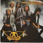Aerosmith 80s CLASSIC ROCK 45 W/PS (Geffen 28240) Dude (Looks Like A Lady) M-