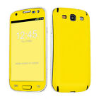 USA Hot Yellow Case Decal Vinyl Sticker Cover Skin Samsung Galaxy S3 S III