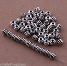 100 pcs Tibetan silver Spacer beads Bracelets necklaces Charms Findings 5mm