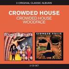 CROWDED HOUSE Crowded House/Woodface 2CD BRAND NEW