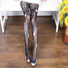 Hot Lady Retro Shredded Sexy Rip Gothic Punk Stockings Hold Ups Pantyhose Tights