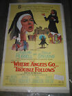 WHERE ANGELS GO TROUBLE FOLLOWS /ORIG. ONE-SHEET MOVIE POSTER (ROSALIND RUSSELL)