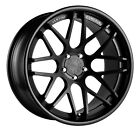 20X8.5/10 STAGGERED VERTINI MAGIC WHEELS 5X120MM ET+35F +38R MATTE BLACK
