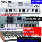 NEW! XS M3 AND PROPHET 08 Samples Library For PRO TOOLS STRUCTURE Sampler