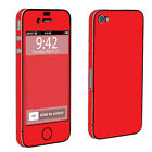 USA Hot Red Case Decal Vinyl Cover Skin Sticker Apple iPhone 4 / 4s Full Body