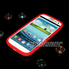 pure Silicone Case Skin Cover of RED color for Samsung Galaxy s3 ,SCH-T999,S iii