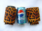 1pc 330ml 12oz Leopard Beer Can koozie Drink Can Cooler - Free shipping to USA !