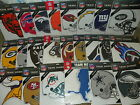 NEW NFL 'LARGE SIZE' Car / Automobile Magnets [12