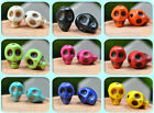20/50/100pcs Turquoise Skull Head Spacer Beads Lovely charm bead 9 Colors 10x8mm