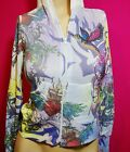 Woman's sublimation tatoo RHINESTONE hoodie jacket sweater S M L XL HEART BIRD