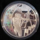 2007 25$ Sterling Silver Coin ---- Olympic Games --- Biathlon