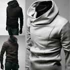 Sexy Mens Slim Fit Top Designed Hoodies Jackets Coats E520 3Color 4 Size FF1037