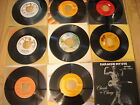 Record lot of 9 Cat Stevens, The Gues Who, Cheech & Chong, Andy Kim 45RPM